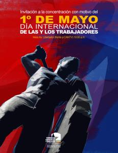 Afiche Día del Trabajador