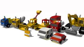 3D Autos para Plan vial