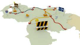 3D Venezuela Plan Vial
